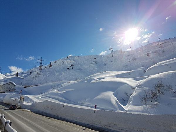 Region Alpe Rauz/Arlberg.