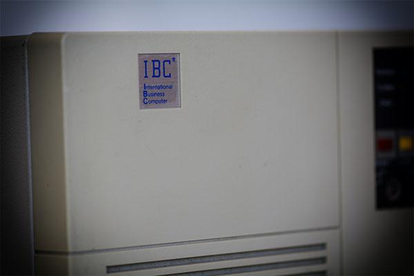 Foto Bildausschnitt IBC Desktp Computer