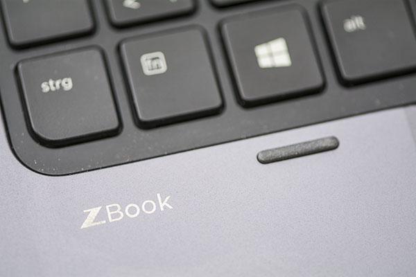 Foto Bildausschnitt HP ZBook Laptop